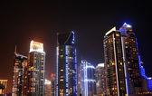 Dubai di notte — Foto Stock