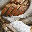 Bread and wheat ears — Stock Photo #8764569