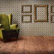 Royalty-Free Stock Photo: Vintage Room