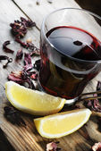 Hibiscus Tea — Foto de Stock
