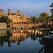 madinat jumeirah in dubai — Stock Photo