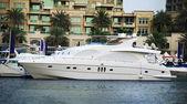 Boats in Dubai Marina — Foto Stock