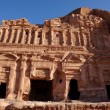 Roman Place in Petra — Stock Photo