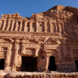 Stock Photo: Roman Place in Petra