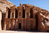 Monastery in Petra — Stockfoto