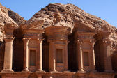 Monastery in Petra — Foto Stock