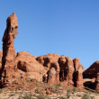 Landscape of Arch NP — Stock Photo