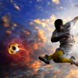 Soccer player — Foto Stock