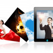 Tablet pc — Stock Photo #10624500