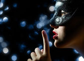 Masquerade mask — Stock Photo