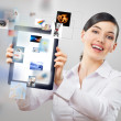 Tablet pc — Stock Photo #8630784