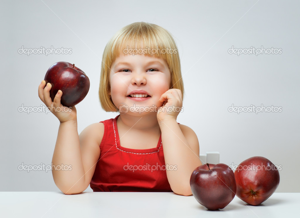 A beautiful child enjoying life  Stock Photo #8759221