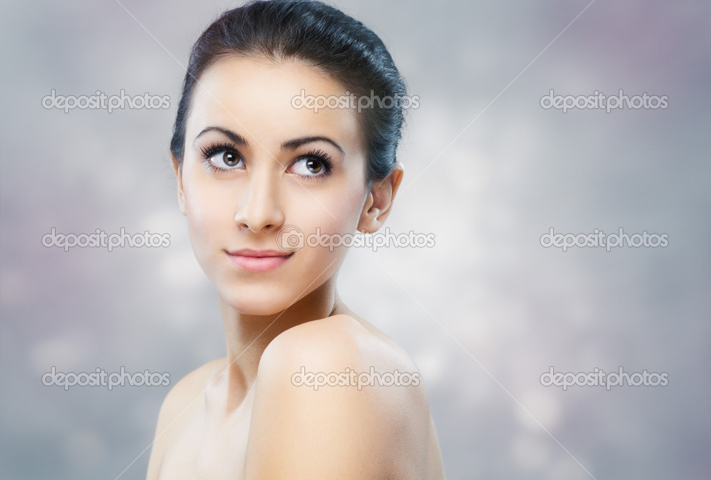 Portrait of a beautiful healthy girl  Stock Photo #9567292