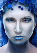 Retrato da rainha de inverno — Foto Stock