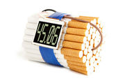 Cigarette bomb — Стоковое фото