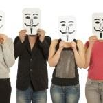 Guy Fawkes mask — Stock Photo #8912987