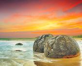 Moeraki Boulders — Foto de Stock