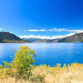 Lake Hawea — Stock Photo