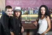 En el bar — Foto de Stock