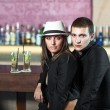 Couple in the bar — Stock Photo #10472162