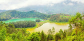 Telaga Warna and Cisaat — Stock Photo