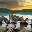Tamblingan lake — Stock Photo
