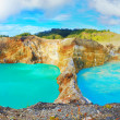 Stock Photo: Kelimutu lakes