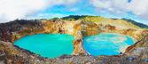 Kelimutu lakes — Stock Photo