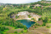 Kelimutu lake — Stock Photo