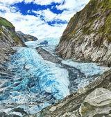 Franz josef παγετώνα — Φωτογραφία Αρχείου