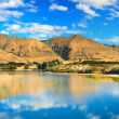 wanaka lake — Stock Photo