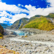 Fox glacier - Stock Photo