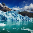 Stock Photo: Spegazzini Glacier, Argentina