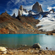 Mount Fitz Roy, Patagonia, Argentina - Stock Photo
