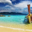Stock Photo: Tropical beach, Andaman Sea, Thailand