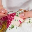 Cross-stitching — Stock Photo #9331124