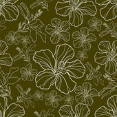 Seamless pattern floreale vettoriale — Vettoriale Stock
