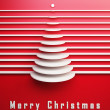 Symbolic 3d Christmas tree — Stock Photo
