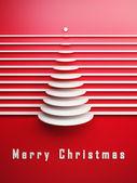 Символическое Рождественская 3d ёлка — Стоковое фото
