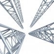 Steel girders — Stock Photo #9744074