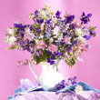 Bouquet of spring flowers — Stock Photo #8348350