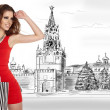 Shopping in Moscow — Stock Photo #10498937