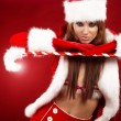 Christmas woman — Stock Photo #7973516