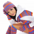 Winter fashion girl — Stock Photo #8089607