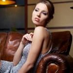 Elegant fashionable woman — Stock Photo #8525437