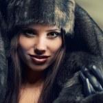 Winter woman — Stock Photo #8526030