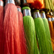 Colored fringes, Marocco - Stock Photo