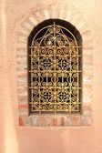 Window of Islamic museum, Marocco, Africa, very beautiful and la — Stock Photo