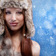 Foto Stock: Winter girl
