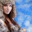 Winter girl — Stock Photo #8565992